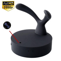 1080P Spy Clothes Hook Câmera Hanger Hidden Pinhole Camera com detecção de movimento Mini DVR Home Office Security Cam dropshipping