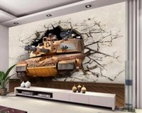 Silk wallpaper cartoon sound board - 3D Walls Walls Large Frescoes Cartoon War Games Stereo Wallpapers Wallpapers Coffee Show Board Poster Walls