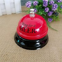 Wholesale Counter Service Bell - Colorful Metal Bell with Retail Package Kitchen Hotel Counter Reception Restaurant Bar Desk Ring for Service Call Bell