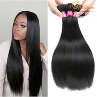 Wholesale Wholesale Bella Dream Hair - Unprocessed Remy Human Hair Peruvian Straight Virgin Bella Dream Hair Extension Fast Free Shipping Peruvian Straight Hair Bundles 8A