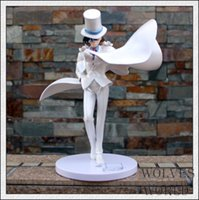 Wholesale Kaito Kid Action Figure - Detective Conan Japanese Action Figures Scale Models Toy Kaito Kuroba Action Figures Christmas Gifts Present SWISSANT®