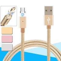 Wholesale Magnetic Charging Adapter - Micro USB Magnetic Cable 3 in 1 Micro Lightning Data Sync Charger Adapter for Android Huawei Charging Cable