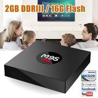 Wholesale Mediums Phoenix - 2GB+16GB m9s tv box android 6.0 built-in rk3229 quad core pre-installed KD17.3 Exodus Phoenix 4K UHD movies center media player