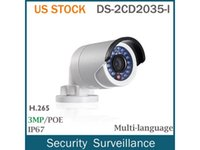 HIKVISION DS-2CD2035-I 3MP HD POE Bullet IP66 Home Security Netzwerk IP Kamera 4mm Objektiv