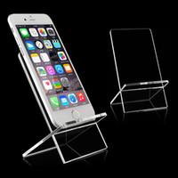 Wholesale Acrylic Cellphone Display - Phone model holder rack Acrylic Cellphone display Stand Phone display rack stand