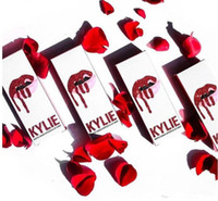 KYLIE JENNER Comestics LIP KIT Kylie VALENTINE / HEAD OVER HEELS Liquido lucido opaco Lipstick Trucco Make Up DHL Gratis