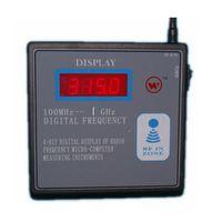 yamaha a distancia al por mayor-100MHZ-1GHZ Contador de frecuencia remoto Medidor inalámbrico RF Transmisor remoto Probador de frecuencia Garaje Tecla remota Medidor de frecuencia