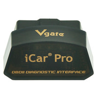 vgate icar wifi elm327 al por mayor-Original Elm327 versión 1.5 Vgate Icar IV Pro OBD2 Bluetooth V3.0 V4.0 WIFI para Android IOS Icar PRO IV