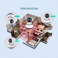 2017 Home Security IP Camera Cámara WiFi Vigilancia 720P Night Vision Detección de movimiento P2P Camera Baby Monitor Zoom