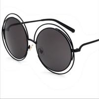 Wholesale Advance Accessories - Sunglasses Fashion Accessories Eyeglasses Sunglasses for Women men NEW 2017 Casual tourism Colorful UV400 advanced PC Metal circle frames