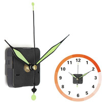 Wholesale Wall Clock Quartz Movement - NEW Silent Quartz Wall Clock Spindle Movement Mechanism Part DIY Repair WN0409