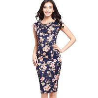 Wholesale Cheap Office Dress Clothes - Wholesale- Dress Summer Vestidos Dresses Vestido de festa Women Plus Size Sexy Office Bandage Vestidos Spring Cheap Clothes China Slim new