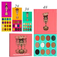 Wholesale Juvias place The Nubian Eye Shadow the Egypt Eyeshadow palette The Masquerade Palette color DHL