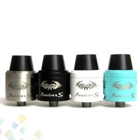 Wholesale clone x - Newest Indulgence Mutation XS RDA Clone Rebuildable Dripping Atomizers Mutation X S Adjustable Airflow Control fit 510 Mods DHL Free