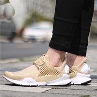 Wholesale Fashion Work Table - New 2017 Fashion Sock Dart Work Blue White Casual Shoes for Men and Women Khaki Summer Sports Running Shoes Sportwear Boots Low