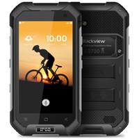 mtk6735 2gb toptan satış-Orijinal Blackview BV6000S 4.7 Inç Smartphone MTK6735 Dört Çekirdekli 2 GB RAM 16 GB ROM Android 6.0 4G LTE 3G WCDMA 4200 mAh Pil + B