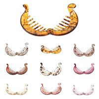 vintage angelzubehör großhandel-13 Farben verfügbar! Phenovo Vintage Banana / Fisch Haarspangen Haarspange Kamm Pferdeschwanz Halter Zubehör für mädchen dame frauen 20 stücke /