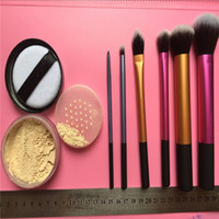 Großhandel-Pulver Make-up Pinsel Farbe Make-up Kombinationen Sechs Farbe Make-up Pinsel Neues Produkt meistverkauften