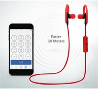 Wholesale Over Earphones - BT-1 Tour Earphone Bluetooth Sport Earhook Earbuds Stereo Over-Ear Wireless Neckband Headset Headphone with Mic WITH new PACKAGE dhl free