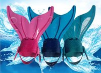 754ad384a1e Cute Swimming Fins for Kid Children Mermaid Swim Fin Swimming Foot Flipper  Training Shoes Tail Diving Feet Tail Monofin