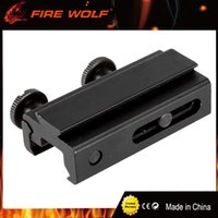 Wholesale Dovetail Rail Extension - FIRE WOLF Dovetail Rail Extension 20mm to 11mm Picatinny Weaver Scope Mount Base Adapter Hunting Tactical Scope Mount