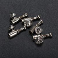 metal tüy takıları toptan satış-Gümüş Tüy broş bankası Broş pins Diy Takı Bulguları Takı Aksesuarları Metal yaka pin tabanı kadın erkek için kısa pin Broches