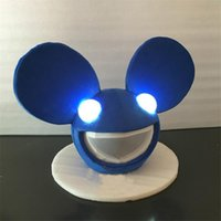 Wholesale Outlet Costumes - Factory Outlets Mitch Mouse Mascot Caps Children Gift Caps with Light Chirstmas Birthday Children Special Gift Free Shipping