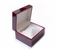 Wholesale Wooden Wood Watch - Luxury Watch Wooden Boxes Gift Box Jewelry Box Not Print Tag Boxs Men's Watches box 10cm*10cm*6.5cm