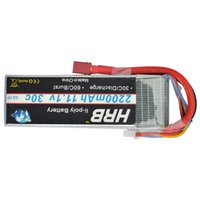 Wholesale Bateria Lipo - battery 11.1v 2200mah HRB Battery 11.1V 2200mAh 30C for RC Trex 450 Fixed-wing Helicopter Quadcopter Airplane Car Lipo 3s Bateria