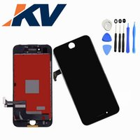 Wholesale Pixel Repair Lcd - For Iphone 7 4.7 LCD Digitizer touch assembly screen with free repair tool kit 1pcs Free shipping no dead pixel