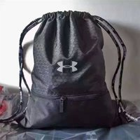 Wholesale Pouch For Backpacks - UA Drawstring Bags Under Backpacks Armor Strorage Organizer Sports Travel Hiking Gym Shoulder Bags for Men Women Teenager Pouch