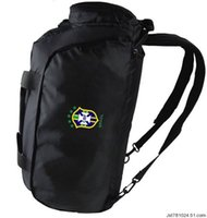 Wholesale Boys Duffel Bag - Brazil duffel bag Soccer team handle tote Quality Brasil backpack Football luggage Sport shoulder duffle Outdoor sling pack