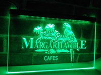 LE110g- Jimmy Buffett Margaritaville LED Neon Light Sign