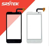 Wholesale Iq Style - Wholesale- For Fly IQ4415 IQ 4415 Quad Era Style 3 Touch Screen Digitizer Outer Glass Replacement Parts Black White
