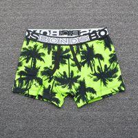 Wholesale Underwear Panties Boys Kids - Australia brand Bonds coconut tree geometri striped boys trunk boxers kids shorts child panties cotton pants children underwear briefs 5pcs