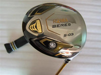 Wholesale Oem Golf Driver Heads - 3 Star Honma S-03 Driver Honma S-03 Golf Driver OEM Golf Clubs 9.5 10.5 Lofts Regular or Stiff Graphite Shaft With Head Cover
