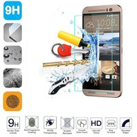 Wholesale M7 Screen Protectors - For HTC 0.26mm 9H 2.5D Hardness Tempered Glass Screen Protector Film Cover Guard for htc one m7 m8 m9 m9 Plus M10 free shipping