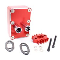 Wholesale Baja 5b Rc Car - RC Car Engine exhaust Radiating kit Fit HPI baja 5b 5t 5sc Losi 5IVE-T Upgrade R