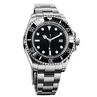 Wholesale Dweller Ceramic Black - AAA Sapphire luxury mens watches SEA-DWELLER DEEP II116660-98210 ceramic bezel stainless automatic original clasp series sport mens watch