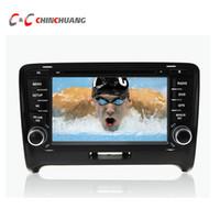 radio navegación para audi al por mayor-Octa Core HD Android 6.0.1 Reproductor de DVD del coche GPS para Audi TT 2006-2014 con radio de navegación Wifi Espejo enlace DVR estéreo