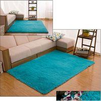 Wholesale Plush Room Carpet - 12 Colors Warm 120*170cm(47.28inch*66.98inch) Living Room Floor Mat Cover Carpets Floor Rug Area Rug