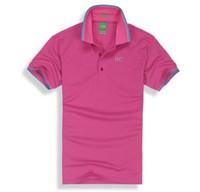 Wholesale Print Manufacturers - 2017 manufacturers direct brand men's Lapel T-shirt foreign trade men's t-shirt men's short sleeved polo shirt 825