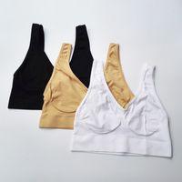 Wholesale Yoga Bra Medium - Sports Yoga Bra Seamless Body Shapers Slimming Underwear Shapewear Vest 90pcs Lot Opp Bag Package