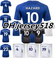 Wholesale Dry Tops - 17 18 TOP Quality Chelsea Soccer Jersey 2017 2018 MORATA Willian HAZARD Pedro DIEGO COSTA KANTE WILLIAN DAVID LUIZ Football Shirts