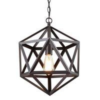 Wholesale Industrial Cage Edison Lighting - Industrial Edison Hanging Pendant 1 Light Large Size Art Deco Cage Lamp Guard Metal Pendant Light