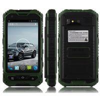 ingrosso telefono cellulare ip68 impermeabile-4.0 Inch A8 phone IP68 Rugged Android Cellulare sbloccato impermeabile A8 MTK6582 Quad Core da 1 GB RAM da 8 GB Senior smartphone antiurto sigillato b