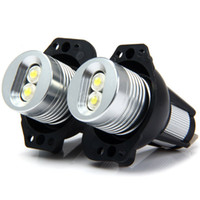 Wholesale Bmw Led Marker - JHW075 12V 5W 2PCS Car Auto Angle Eyes LED Marker Light Bulb Lamp for BMW E90 E91 White Light 123637701