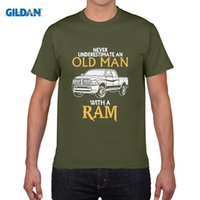 Wholesale Green Engines - New Arrival tee shirt DODGE RAM HEMI engine truck car v8 power - Painted organic tshirt for men custom print shirts Styles