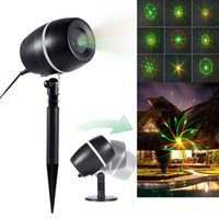 Wholesale professional laser show for sale - Red Green Projector Lights Star Laser Landscape Light Moving Galaxy Show Spotlight Outdoor Decoration for Christmas Party Stage Decoration