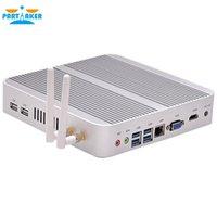 Wholesale Mini Fanless Desktop Pc - Partaker B1 Fanless Desktop Computer Mini PC i5 with Intel Dual Core i5 4200u Free Shipping